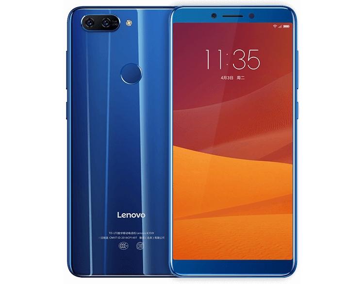 """Недорогие смартфоны Lenovo K5 и K5 Play наделены 5,7"""" дисплеем Full Screen"""