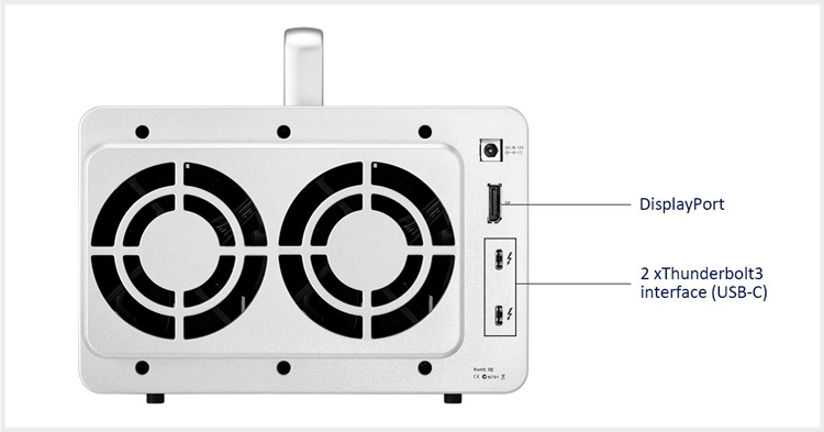 "TerraMaster D5 Thunderbolt 3: внешнее хранилище с поддержкой RAID"""