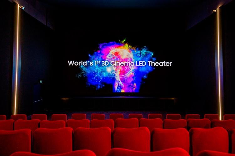 """Заработал первый в мире кинозал с 3D-экраном Samsung Cinema LED"""""""