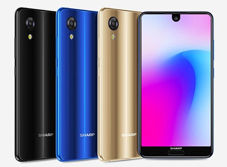 Смартфон Sharp Aquos S3 Mini получил дисплей с вырезом под камеру