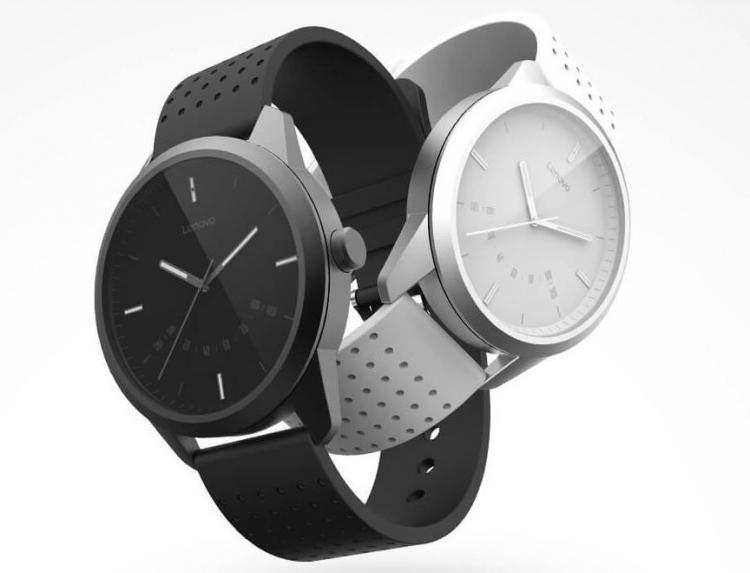 Lenovo Watch 9:гибридные смарт-часы с классическим дизайном за $20