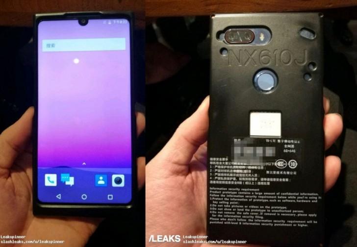 ZTE готовит к релизу близнеца Essential Phone — флагманский смартфон Nubia Z19