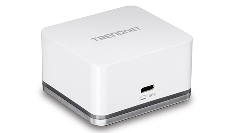TRENDnet TUC-DS1: компактная док-станция с портом USB Type-C""