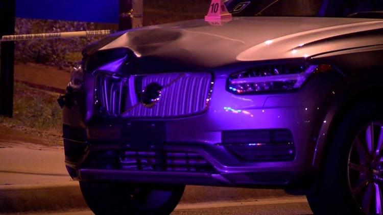 Обнародовано видео трагического ДТП с участием робомобиля Uber