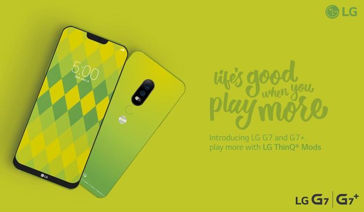 Постер раскрыл особенности дизайна смартфона LG G7