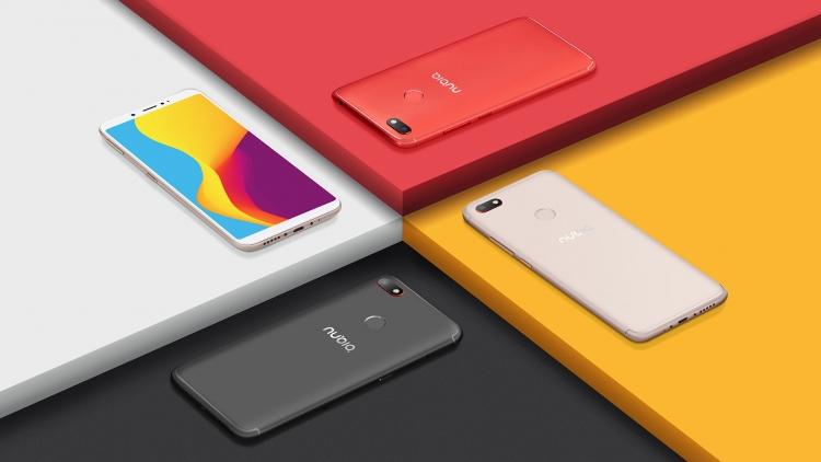 ZTE анонсировала смартфон-середнячокNubia V18