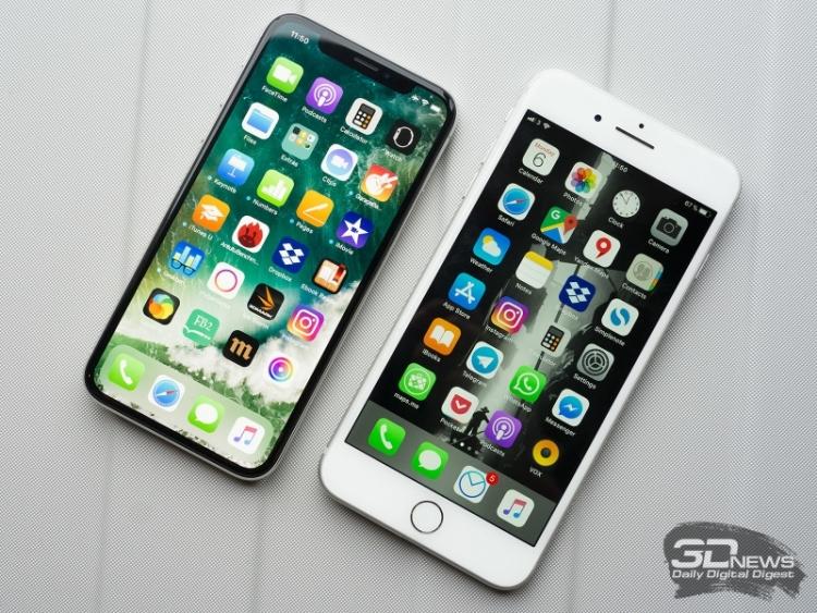 IPhone показал наилучшие результаты в России