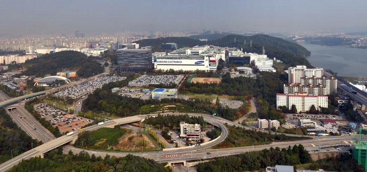 Завод Line-6 компании Samsung под Сеулом
