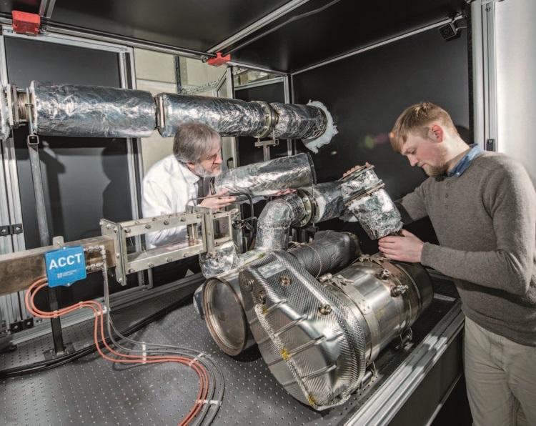 """Учёные нашли способ радикально снизить вредные выбросы дизельных моторов"""""""