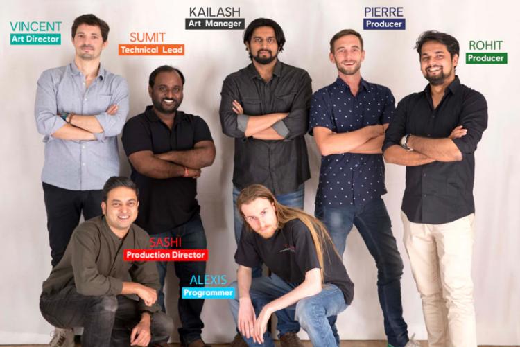 Сотрудники Ubisoft Mumbai