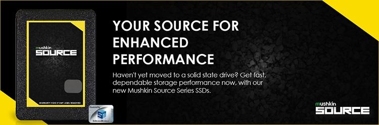 341 1 - Mushkin Source: семейство SSD для тех, кто пока не расстался с HDD
