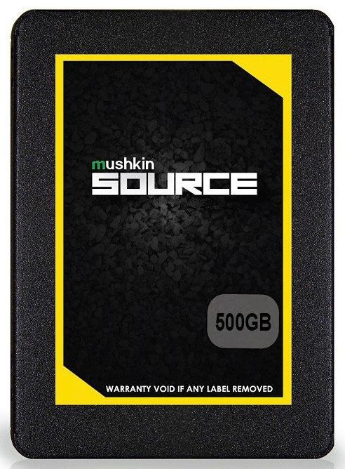341 2 - Mushkin Source: семейство SSD для тех, кто пока не расстался с HDD