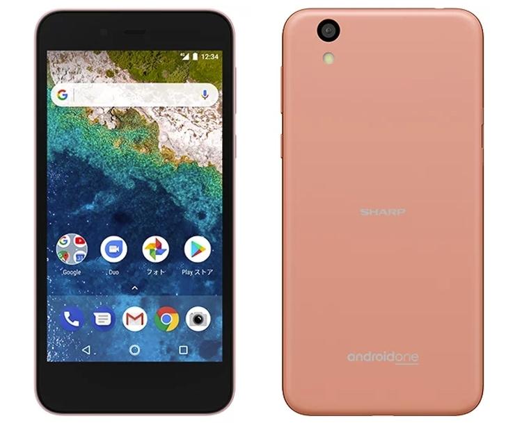 Смартфон Sharp Android One с 5-дюймовым дисплеем LCD IGZO