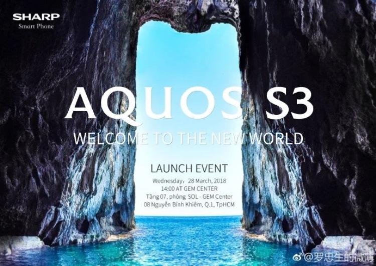 """Анонс смартфона Sharp Aquos S3 с вырезом в стиле iPhone X состоится 28 марта"""""""