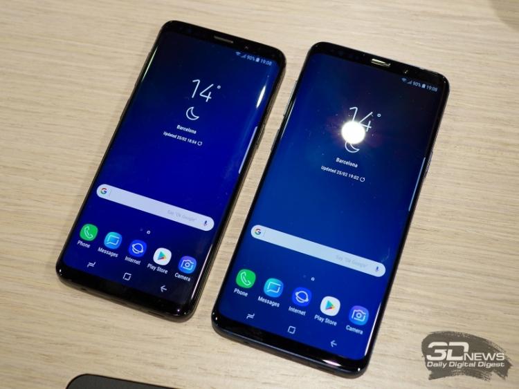 Пользователи Samsung Galaxy S9