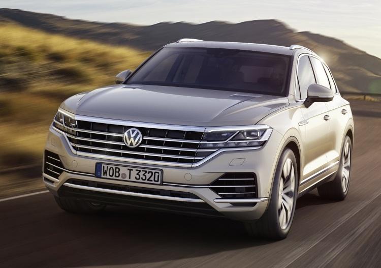 Volkswagen Touareg третьего поколения стал легче и интеллектуальнее