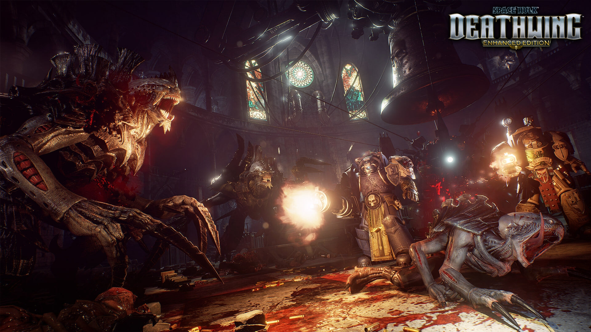 Трейлер Space Hulk: Deathwing — Enhanced Edition, дата выхода для PS4