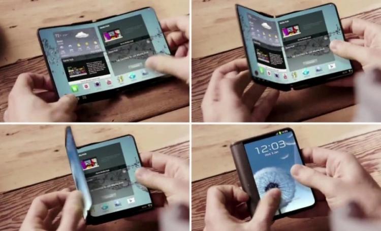 """Складной смартфон Samsung Galaxy X вряд ли появится на рынке в обозримом будущем"""""""