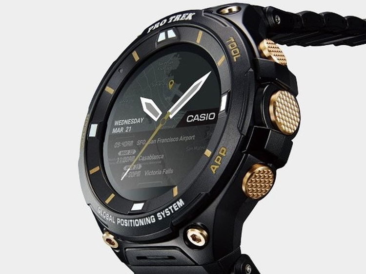 Смарт-часы Casio WSD-F20SC