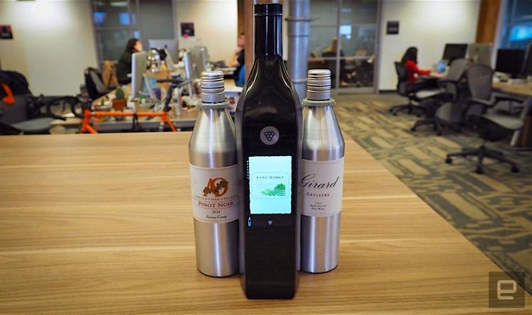 """Разработчики винной смарт-бутылки Kuvée признали себя банкротом"""""""