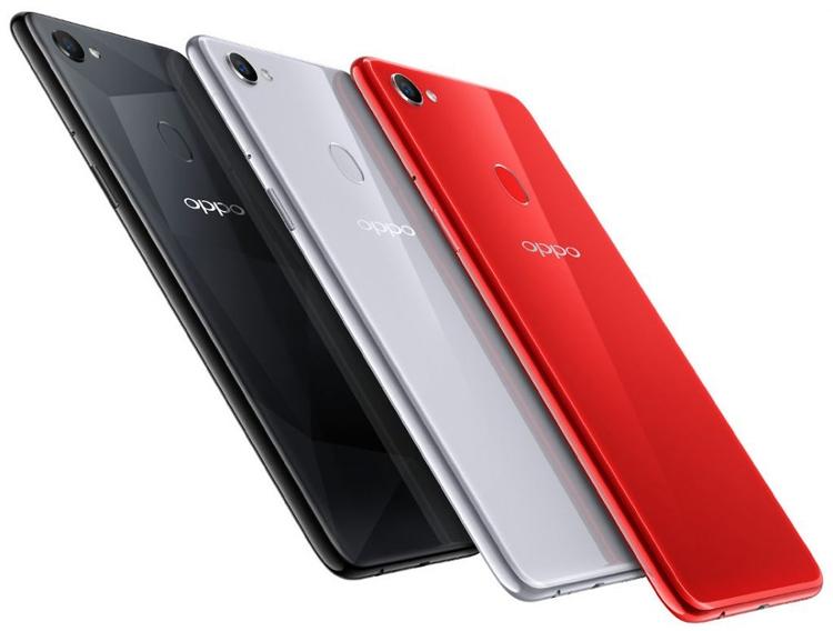 "Смартфон OPPO F7 получил 25-Мп селфи-камеру и экран размером 6,23"""""