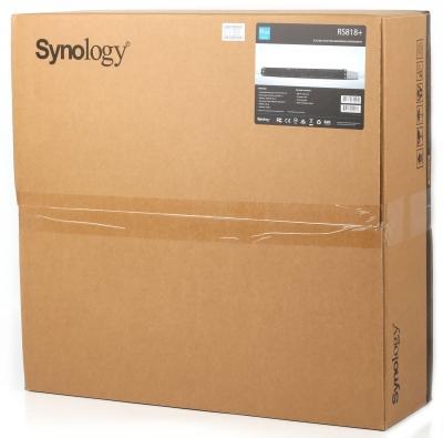 Обзор Synology RS818+: NAS для дела