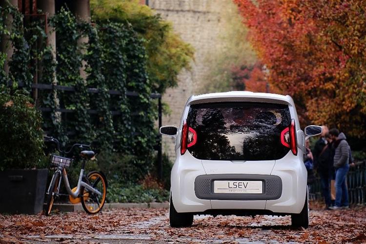 """LSEV: первый в мире серийный электрокар с «напечатанным» кузовом"""""""