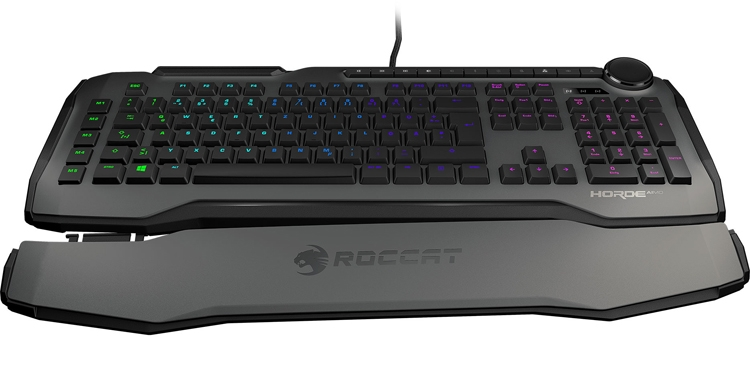 "Roccat Horde AIMO: игровая клавиатура с RGB-подсветкой"""