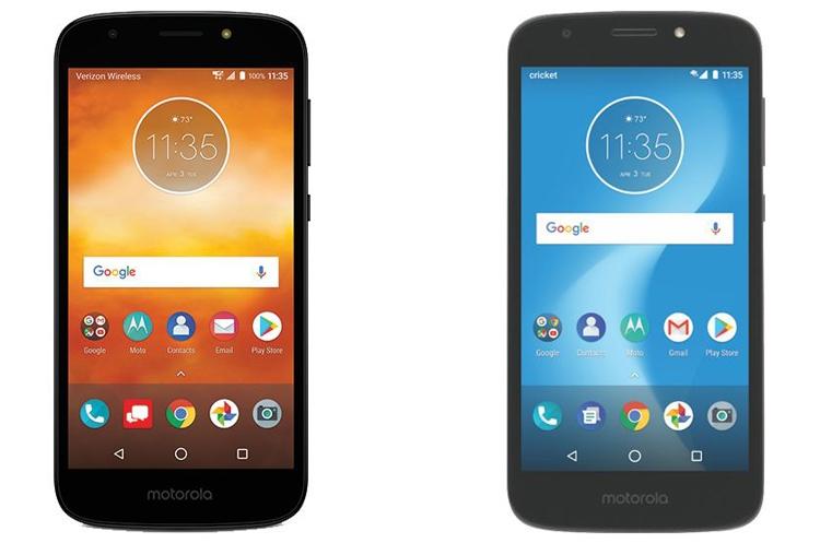 Анонс смартфона Moto E5 Play ожидается в ближайшее время