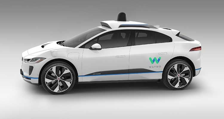 """Waymo покупает 20 000 электромобилей Jaguar I-PACE"""""""