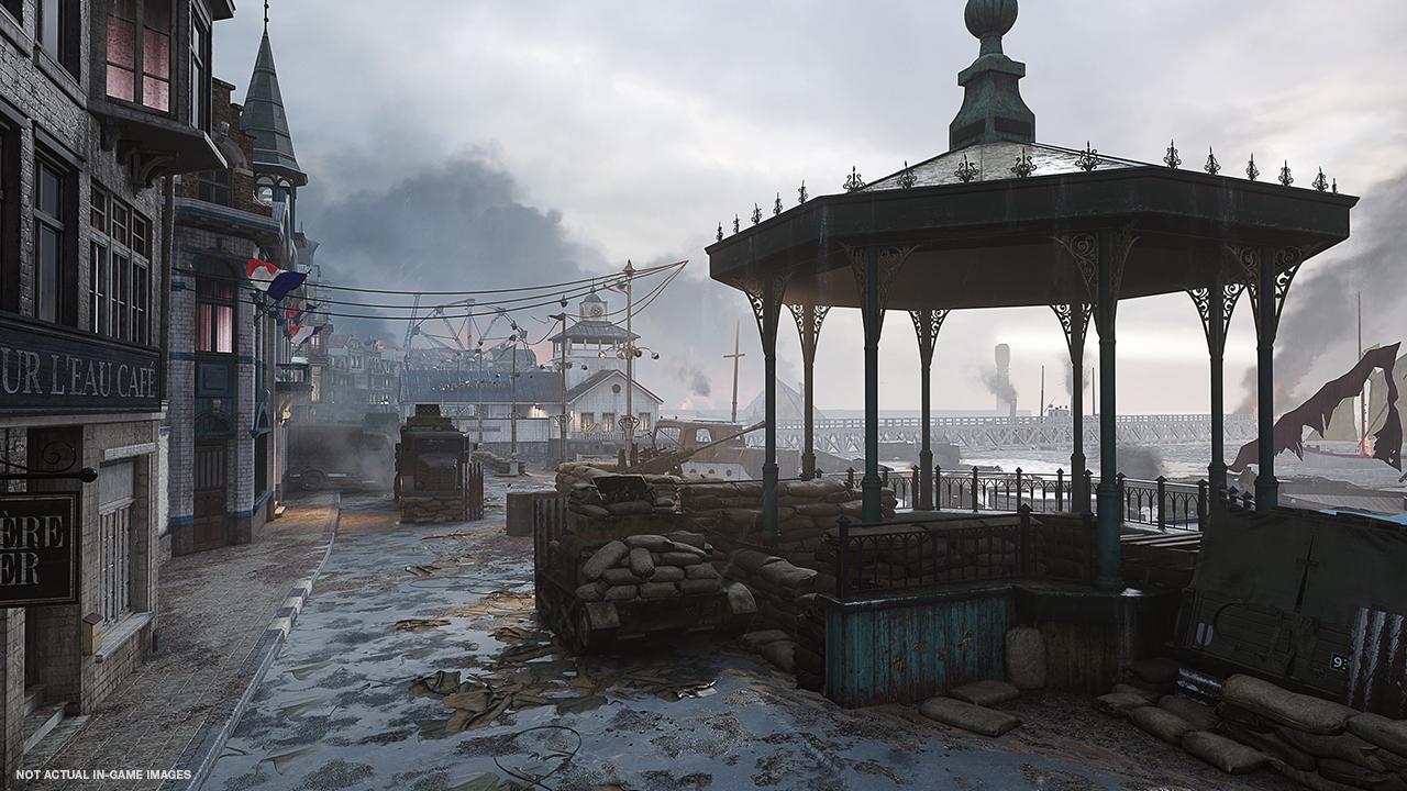 В Call of Duty: WWII появятся три новые карты для мультиплеера, операция и свежая зомби-глава