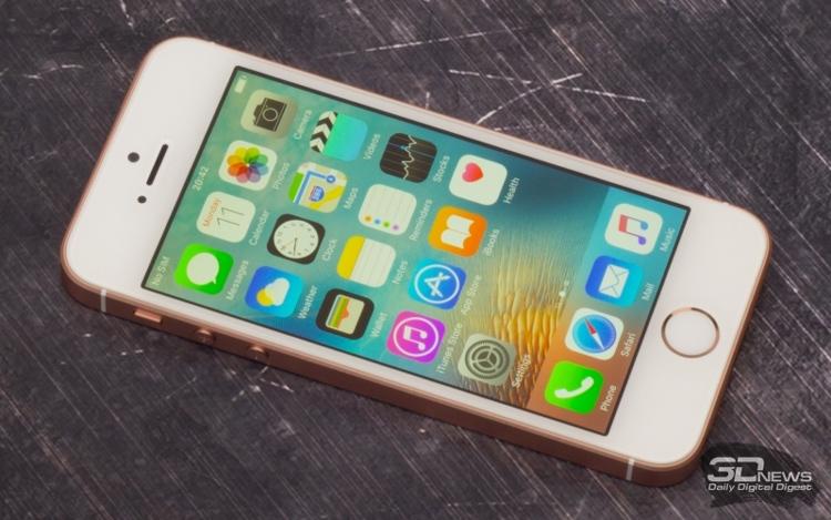Apple iPhone SE лидирует по количественным продажам в РФ с лета прошлого года