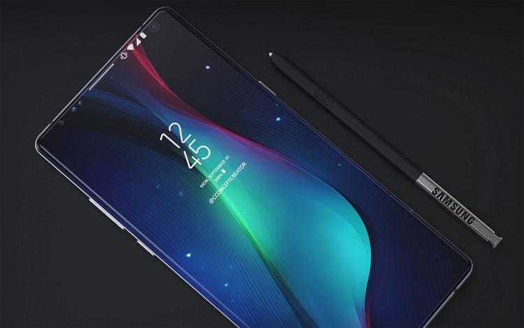 Концепты Galaxy Note 9  Concept Creator