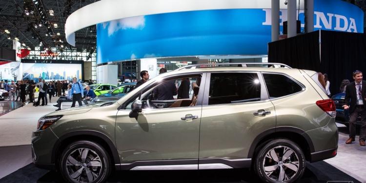 """Subaru задействует технологию распознавания лиц для обнаружения усталости водителя"""""""