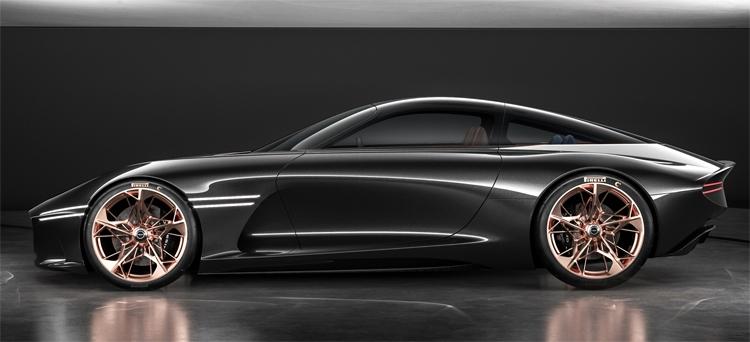 """Genesis Essentia: концептуальное купе с электрическим «сердцем»"""""""