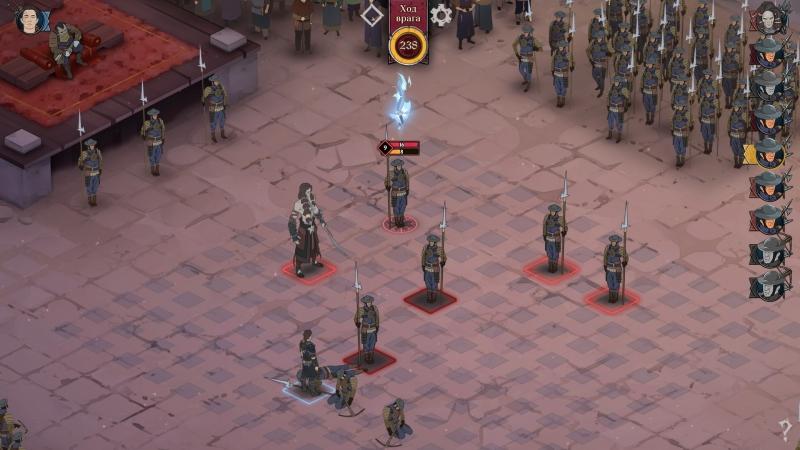 В сражениях две стороны ходят по очереди, поэтому одним бойцом победить армию проще. Одиночка сможет действовать куда чаще