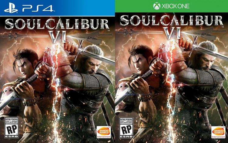 Официальная обложка Soulcalibur VI