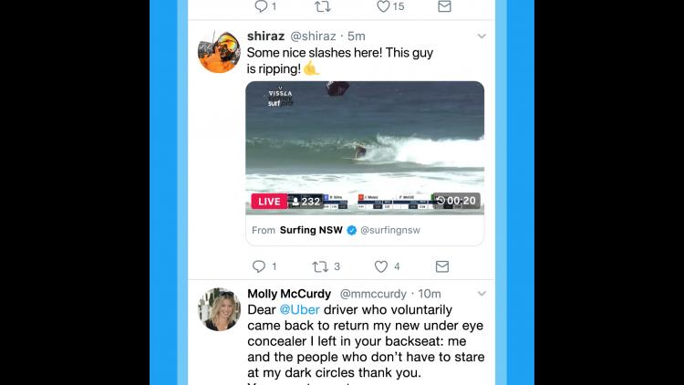 """В Twitter появилась возможность публиковать отдельные моменты видеотрансляций"""""""
