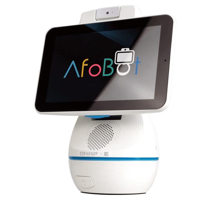 "QNAP AfoBot: робот-компаньон для организации видеосвязи"""