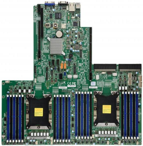 Серверная плата Supermicro X11DPU-Z+ для процессоров LGA3647 с тепловым пакетом до 255 Вт