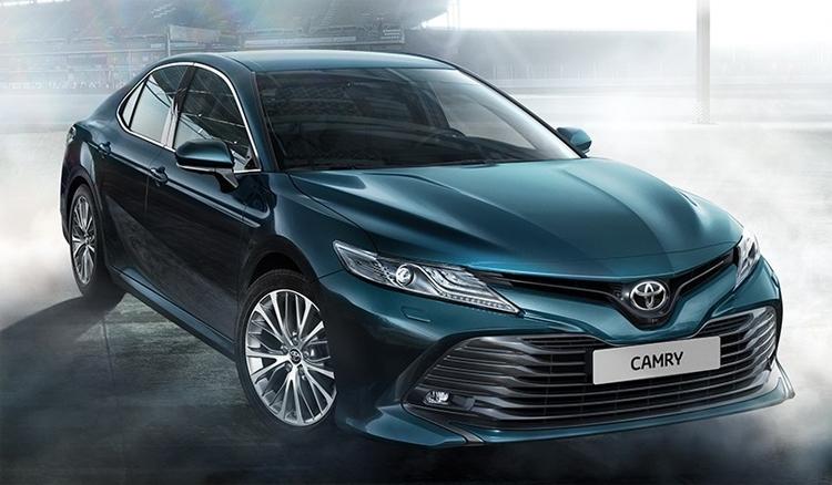 """Обнародованы российские цены на Toyota Camry нового поколения"""""""