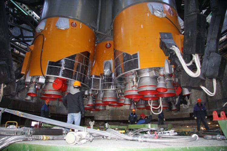 Воронежский мехзавод отправит в столицуРФ двигатели для ракет «Протон-М» и«Союз»