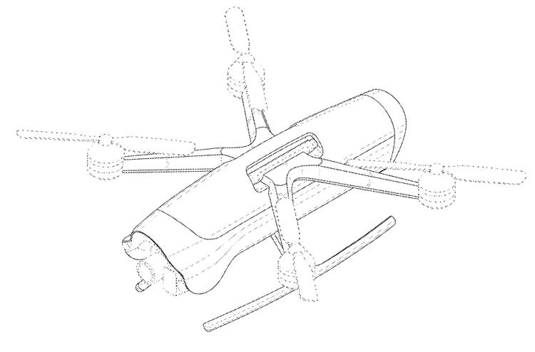 В Samsung придумали беспилотник с необычной конструкцией