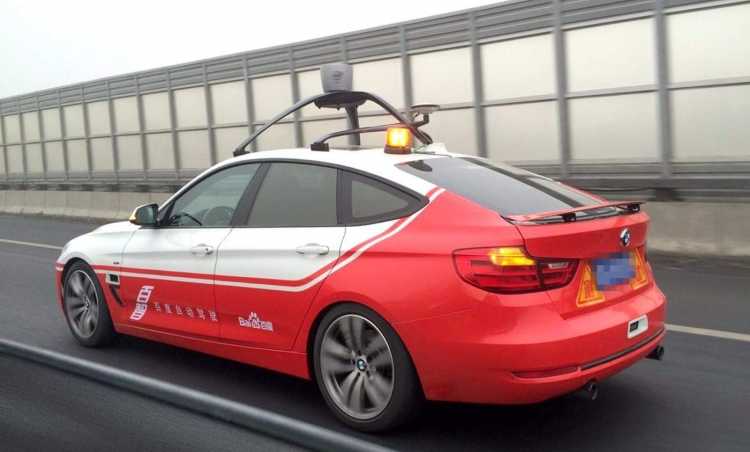 """Китай будет проводить тестирование беспилотных автомобилей в 40 крупнейших городах"""""""