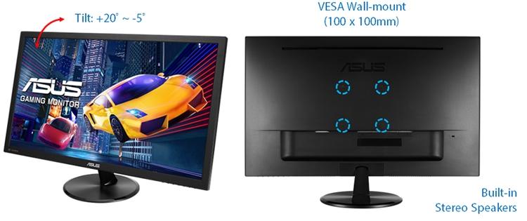 """ASUS VP228QG: игровой 21,5"""" монитор с поддержкой FreeSync"""""""