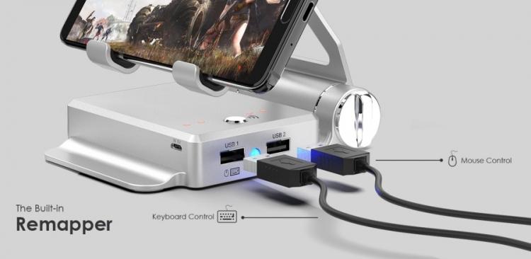 """GameSir X1 BattleDock: компактная док-станция для подключения периферии к смартфону"""""""