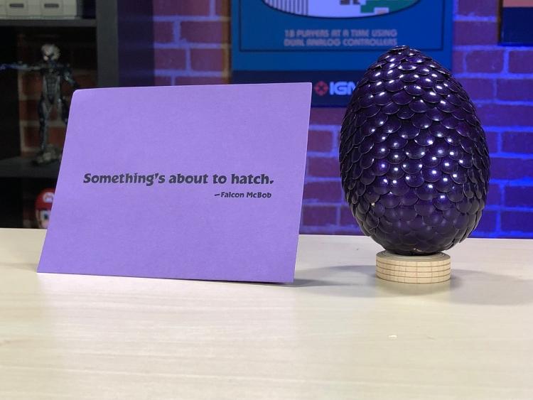 """В редакцию IGN прислали драконье яйцо — явный намёк на скорый анонс переиздания Spyro The Dragon"""""""