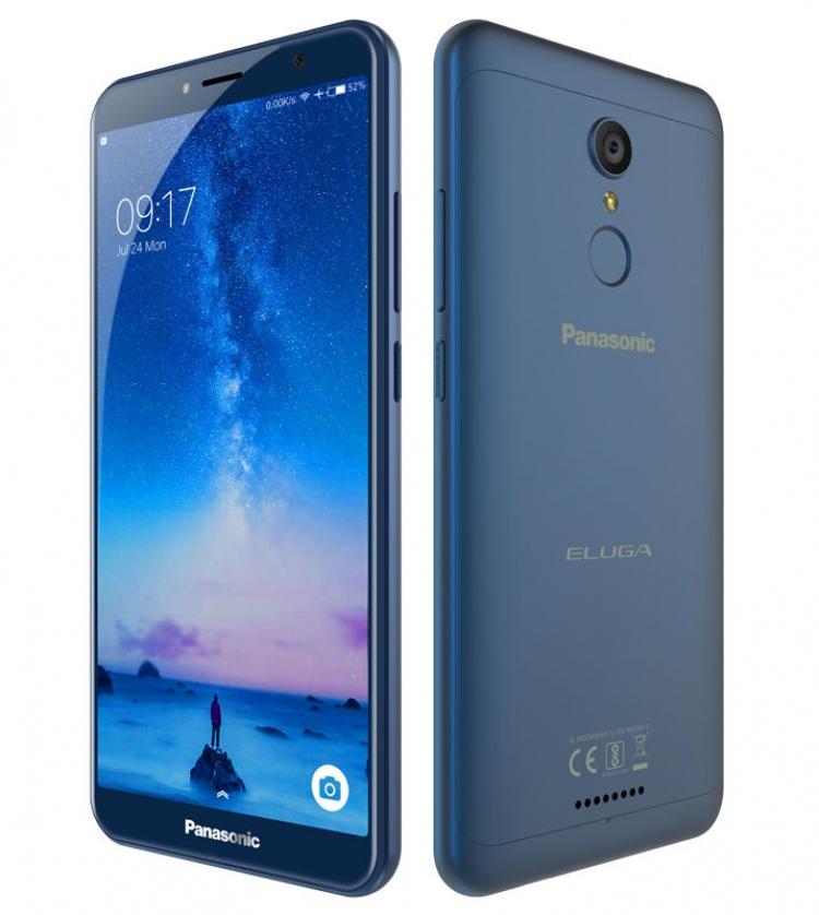 Бюджетный смартфон Panasonic Eluga Ray 550 получил железный корпус