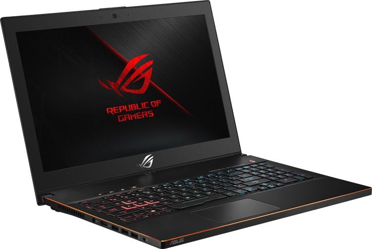Игровой ноутбук ASUS ROG Zephyrus M GM501 имеет толщину менее 20 мм