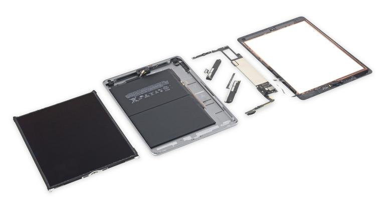 """iFixit: новый планшет Apple iPad ремонту не подлежит"""""""